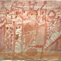 Bargheer_Mittag, 1956, Aquarell, signiert, datiert
