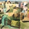 Bargheer_Sommer in Blankenese, 1950_Aquarell_signiert, datiert