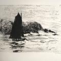 Nolde_Segler und drei kleine Dampfer_1910
