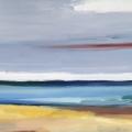 bätt a ääb (Nach der Ebbe), 2017, 70 x 100 cm