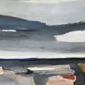 grä dai II (grauer Tag), 2017, 70 x 100 cm