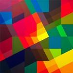 "Thomas Kaiser, ""modulation l+m.i+i"", 2013, Acryl auf Leinwand, 50 x 50 cm"