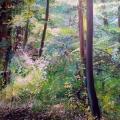 """""""o. T. (Momente I)"""", 2017, 100 x 140 cm"""