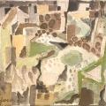 Bargheer_Heller Morgen, 1964_Öl auf Leinwand_signiert, datiert