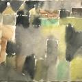 Bargheer_Nach dem Regen_1959_Aquarell_signiert, datiert