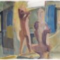 Badezimmer, 2011, 50 x 70 cm, Gouache auf Papier.jpg
