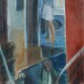 Treppenhaus, 2011, 100 x 79, Acryl auf Nessel.jpg