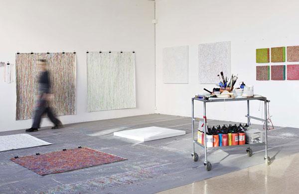 Im Atelier von Susanne Lyner
